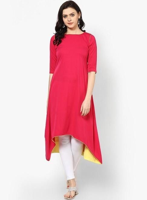 10 Styles Of Kurtis For Office Wear - LiVA has listed a few trendy ...