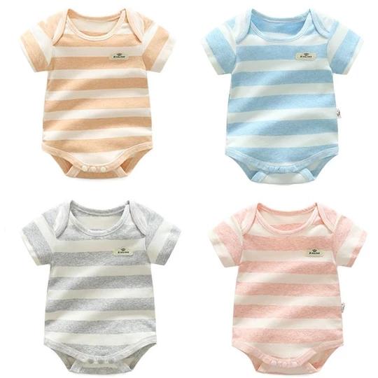 DAB Cat Baby Boys Girls Jumpsuits Short Sleeve Romper Bodysuit Bodysuit Jumpsuit Outfits Pink