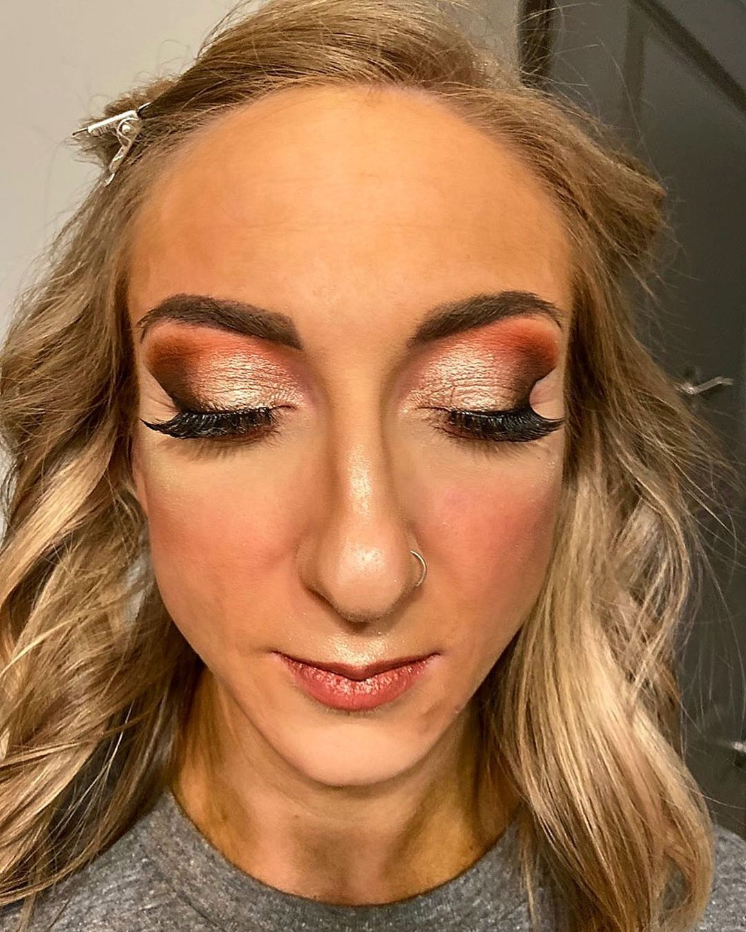 Makeup On This Beauty For The Lee Haney Games Makeup Artist Mua Leehaney Npc Showday Looks Showdaymakeup Las Day Makeup Beauty Lee Haney