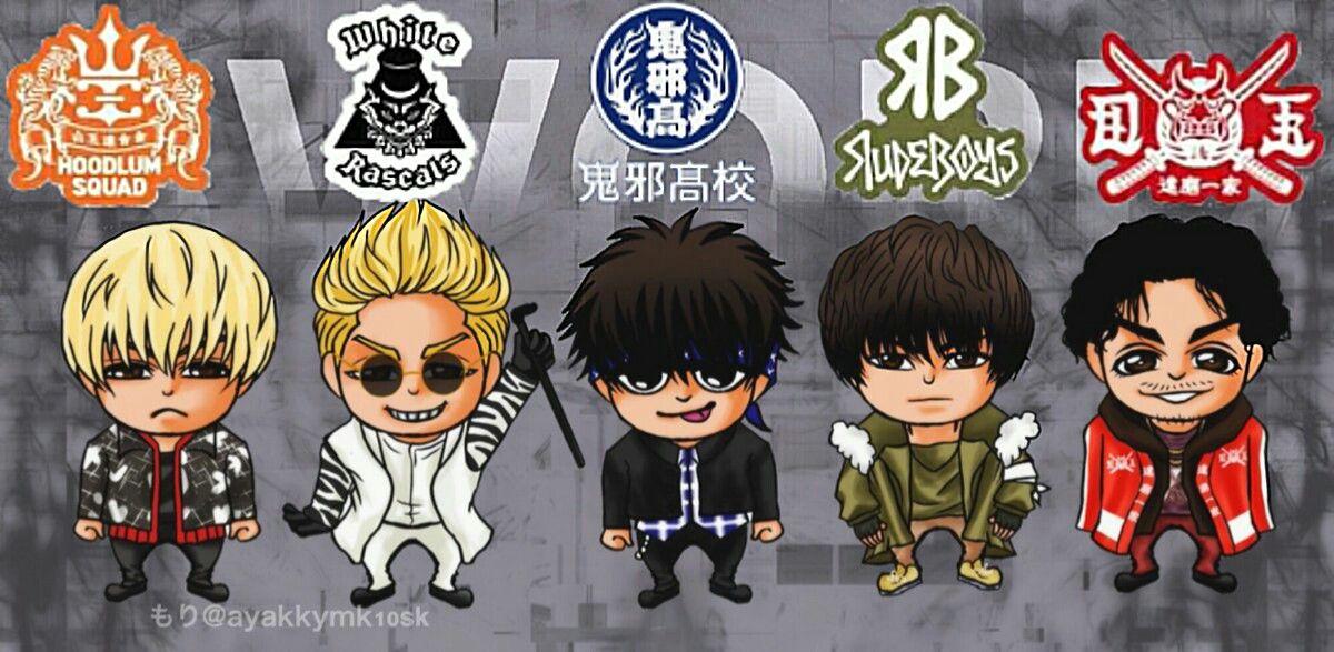 High Low S W O R D Wallpapers Gambar Naga Seni Gelap Seni Anime