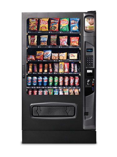 Snack Vending Machines - Alpine VT5000 | Anatomy of a