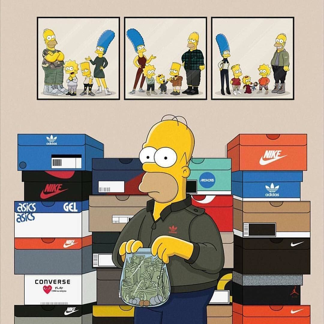 Supreme The Simpsons: #simpsons #bart #m