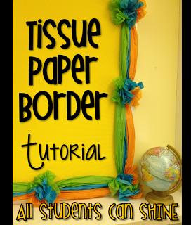 Tissue Paper Border A Tutorial Tissue Paper Borders Borders