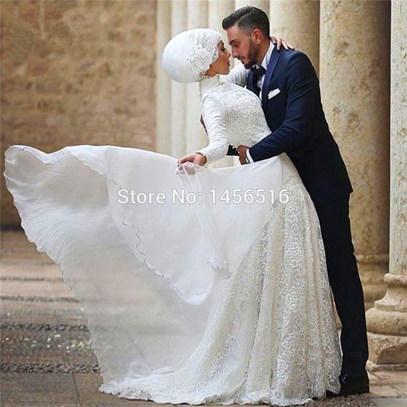 Rever d'une mariee en robe blanche islam