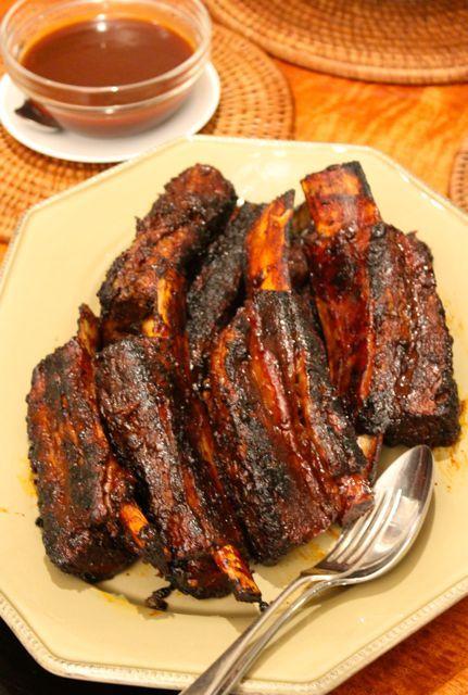 Meaty Barbecued Beef Ribs Beef Ribs Bbq Beef Ribs Beef Ribs Recipe