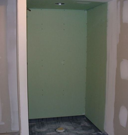 6 Bad Ideas When Remodeling The Bathroom Shower In Your Home Green Board Sheet Rock