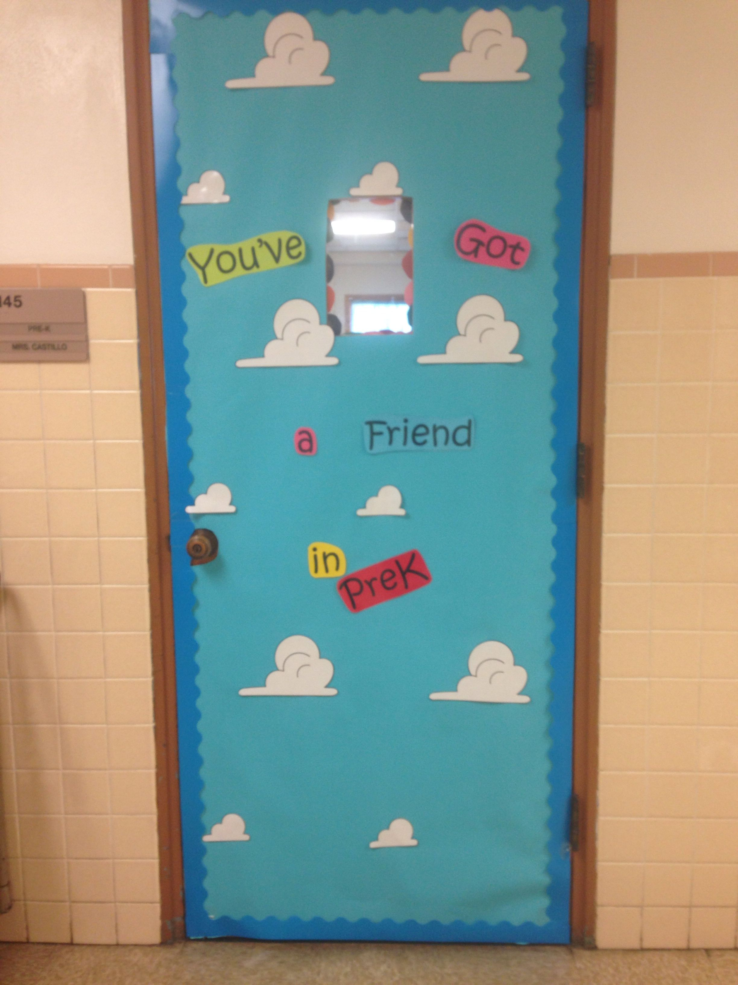 Toy Story themed door decoration!