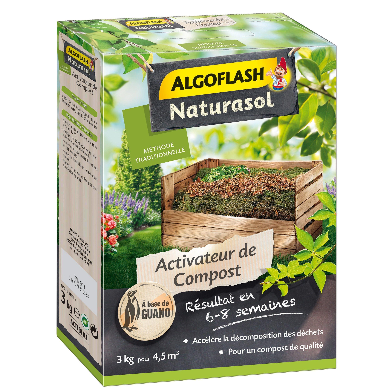 Activateur De Compost Universel Algoflash 3 Kg 33 M²