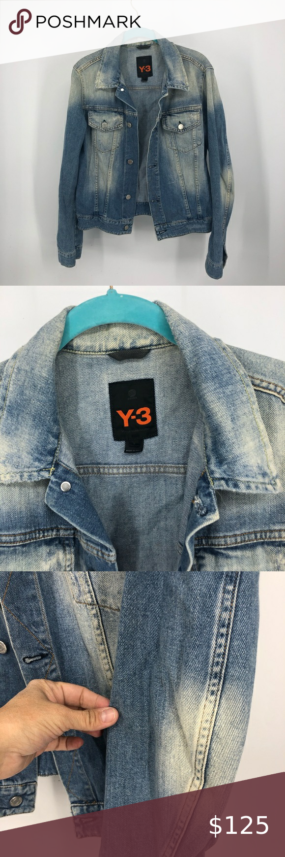 Rare Adidas Y 3 Yohji Yamamoto Jean Jacket L In 2020 Yohji Yamamoto Jean Jacket Jackets [ 1740 x 580 Pixel ]