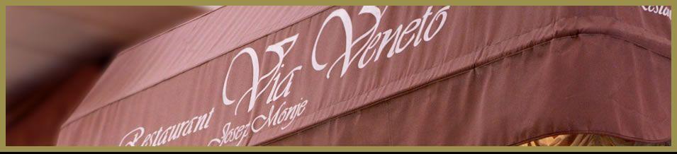 Restaurante Via Veneto - Via Veneto. Barcelona, Spain