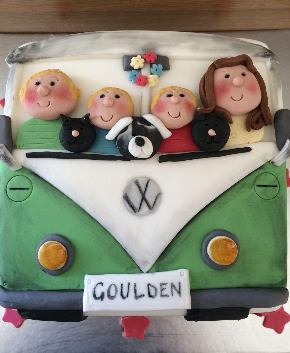 VW camper van celebration cake from Cafe Sixty Four Bovey ...