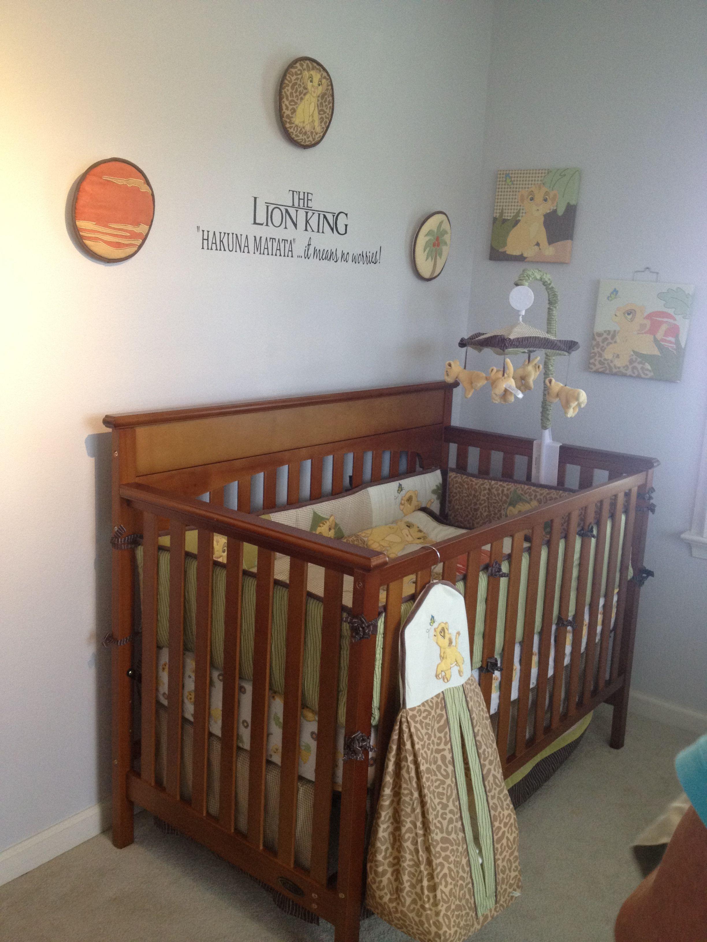 Lion King nursery | Safari theme nursery, Nursery themes ...