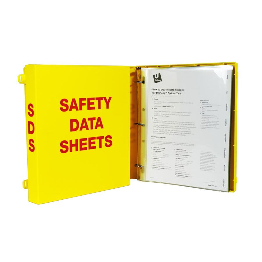 Perfectly Organize & Store Your Safety Data Sheets With