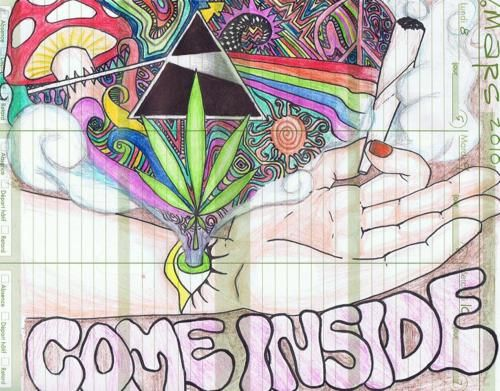 Heart Means Everything With Images Psychedelic Drawings
