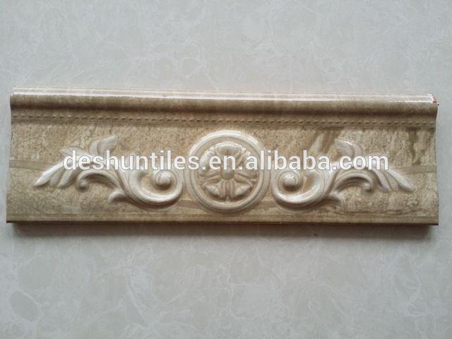 Source Decorative Skirting Embossing Listello Border Tiles On M Alibaba