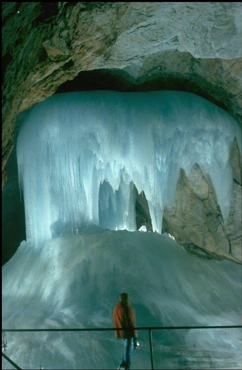 Ice Cave Eisriesenwelt Werfen Austria Travel Bucket List Austria Winter Austria Visit