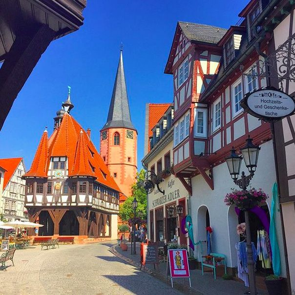 I Want To Visit Germany In German: The Cutest German Towns To Visit - Michelstadt