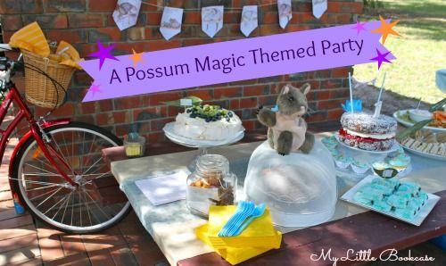 Possum Magic Party Ideas My Little Bookcase Teaching Reading