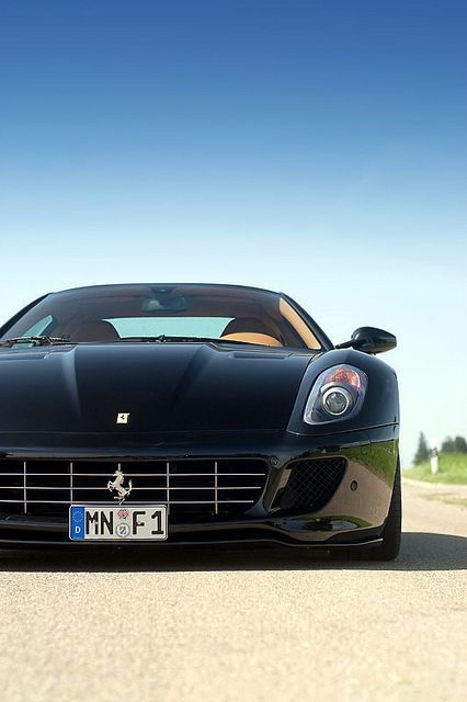 Ferrari...black. 8 years...well only 7 shortly.