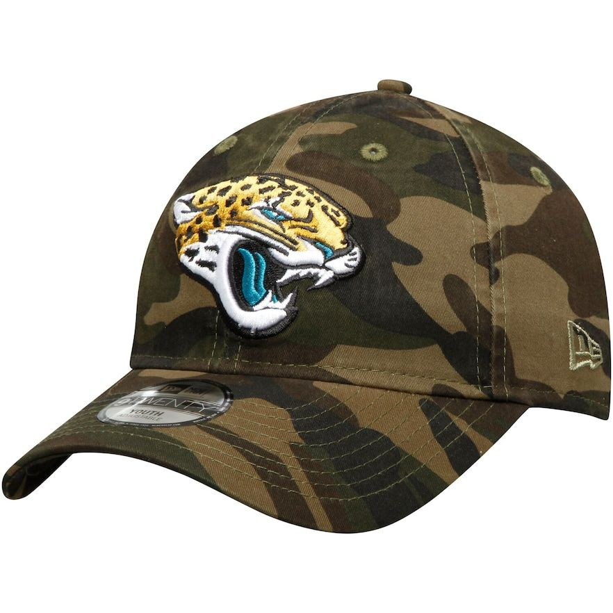 Jacksonville Jaguars Wood camo New Era 59Fifty Cap