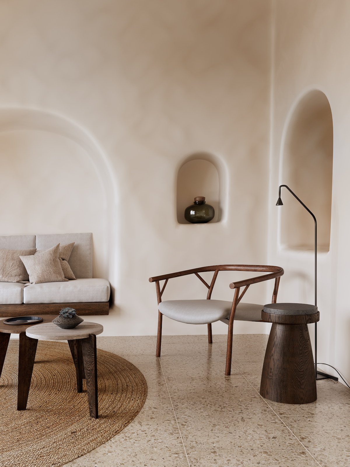 Photo of Minimalism rethought: New Mediterranean interior trend
