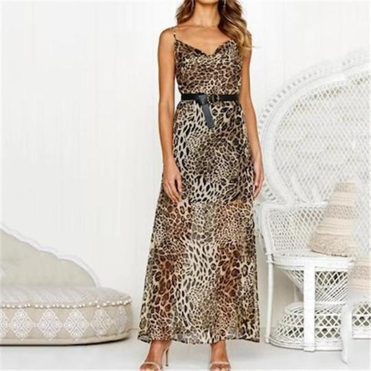 Sexy Hosenträger Leopardenmuster lässige Kleidung