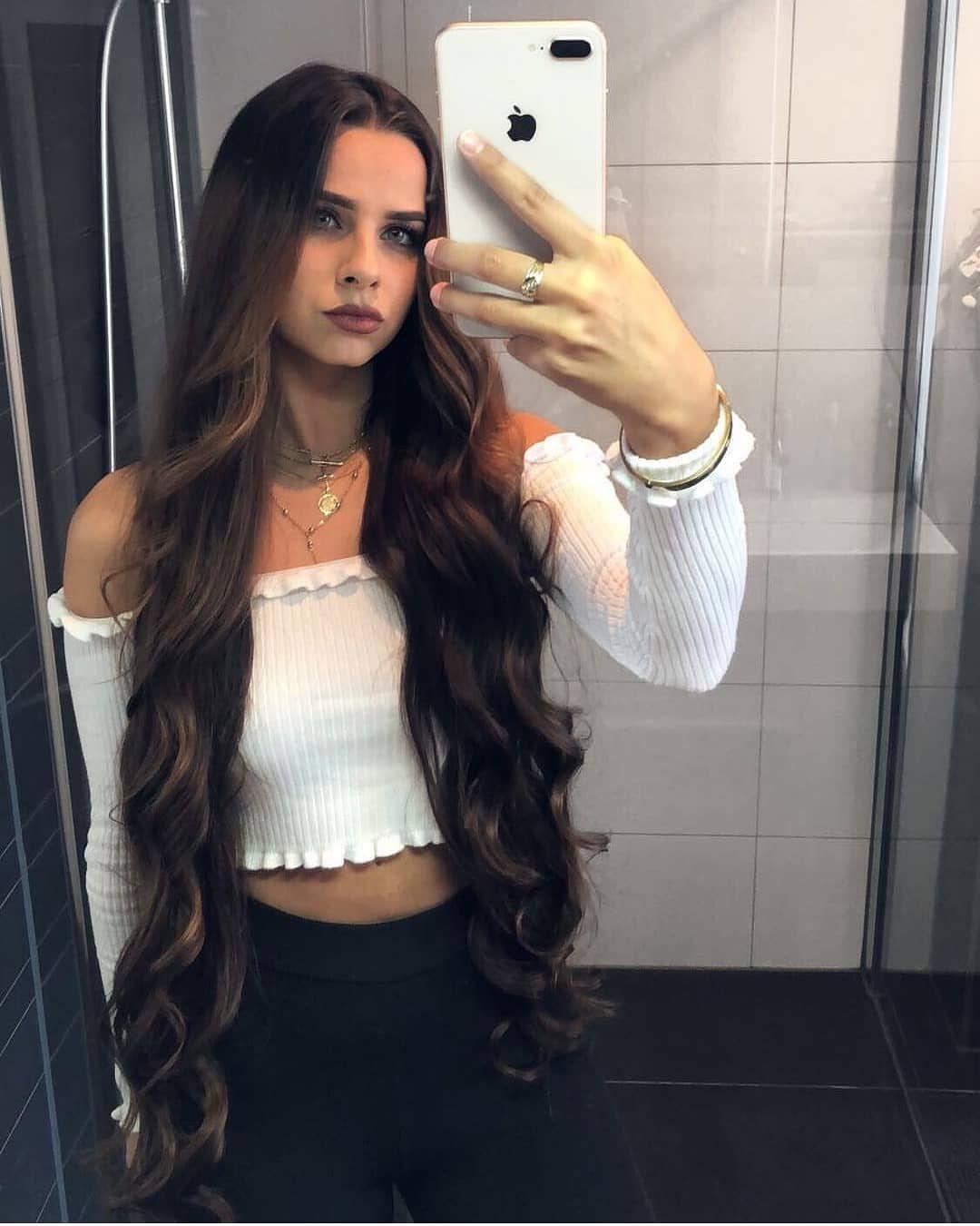 Sexiest Hair Sexiesthair Instagram Photos And Videos Long Hair Styles Curls For Long Hair Long Hair Girl