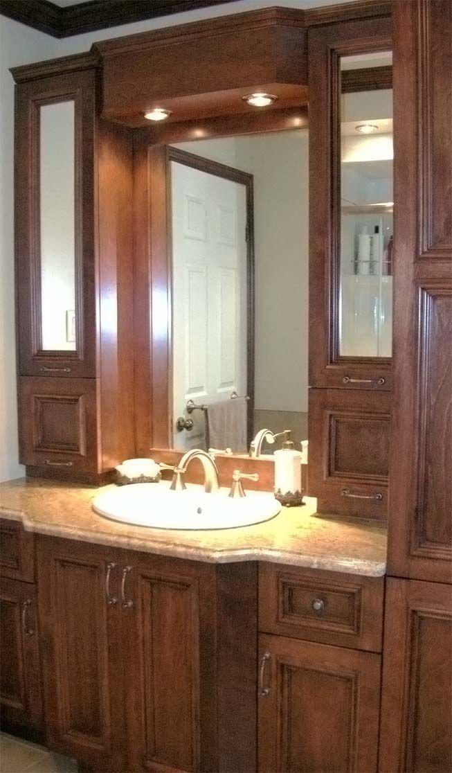 vanit classique. salle de bain sur mesure avec vanit en bois ...