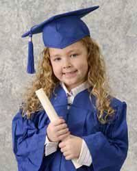 Mini Grad Cap Gown Set 4995 For Emmas Pre School Graduation