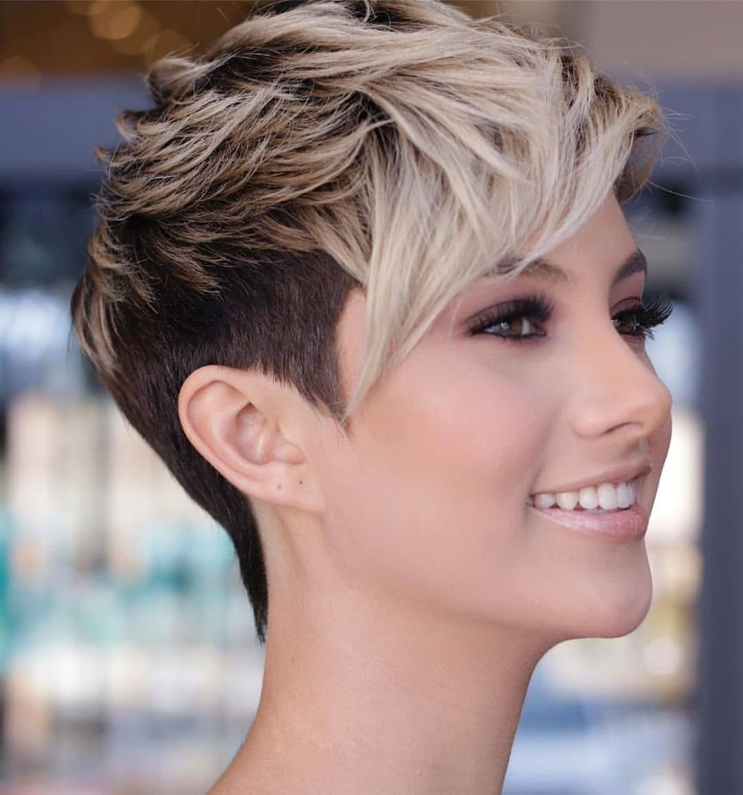 Which Short Haircut Should I Get Her Crochet Edgy Short Hair Stylish Hair Short Hair Styles Pixie