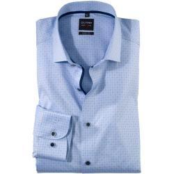 Photo of Olymp Level Five Shirt, körperbetont, extra langer Arm, Bleu, 41 Olymp