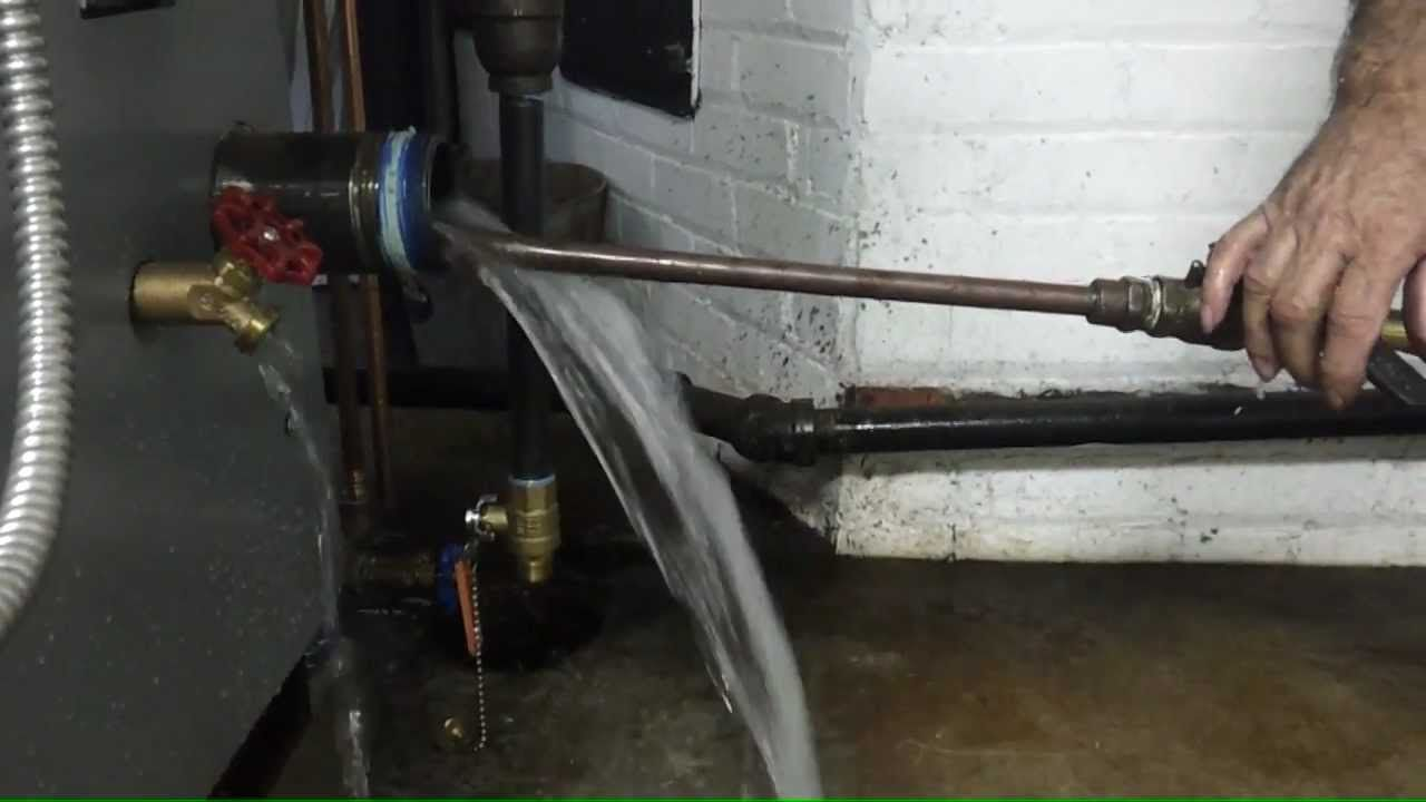 Steam boiler maintenance - When skimming doesn\'t work to clean a ...