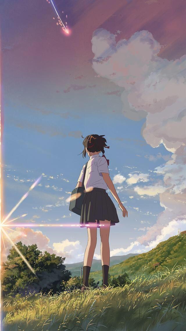 Pin By Karen Lee On Art In 2018 Pinterest Anime Kimi No Na Wa