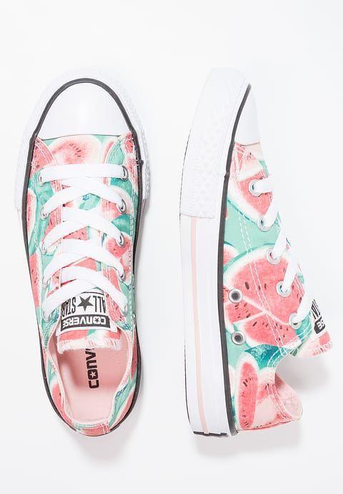 Converse CHUCK TAYLOR ALL STAR WATERMELON - Sneaker low - vapor pink/green glow/white für 44,95 € (28.04.17) versandkostenfrei bei Zalando bestellen. #whiteallstars