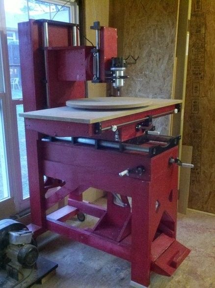 Homemade Router Milling Machine