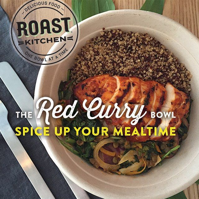 Roast Kitchen - Our Red Curry Bowl is a true favorite. A heartymix ...