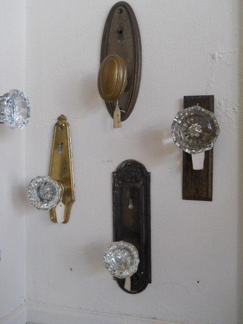 Knobs For Coat Hooks | Upcycled Vintage Door Knob Coat Hook Hanger By  SavannahHopeVintage