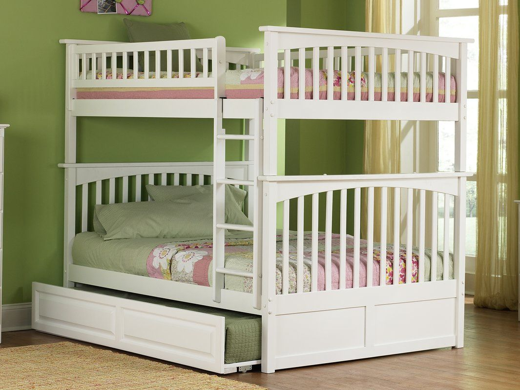 Henry Bunk Bed with Trundle Bunk bed with trundle, Bunk