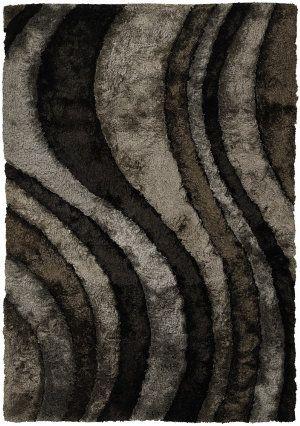 RugStudio presents Chandra Flemish FLE51100 Grey Woven