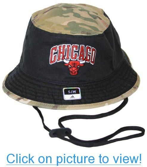 6dadf512072b9 Chicago Bulls Adidas NBA Bucket Hat - Camo #Chicago #Bulls #Adidas ...