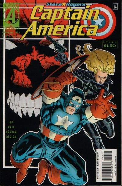 Captain America # 446 by Ron Garney