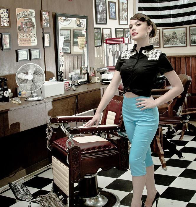 Barber Shop Coiffeuse en 2019 Mode élégante, Salon et Mode