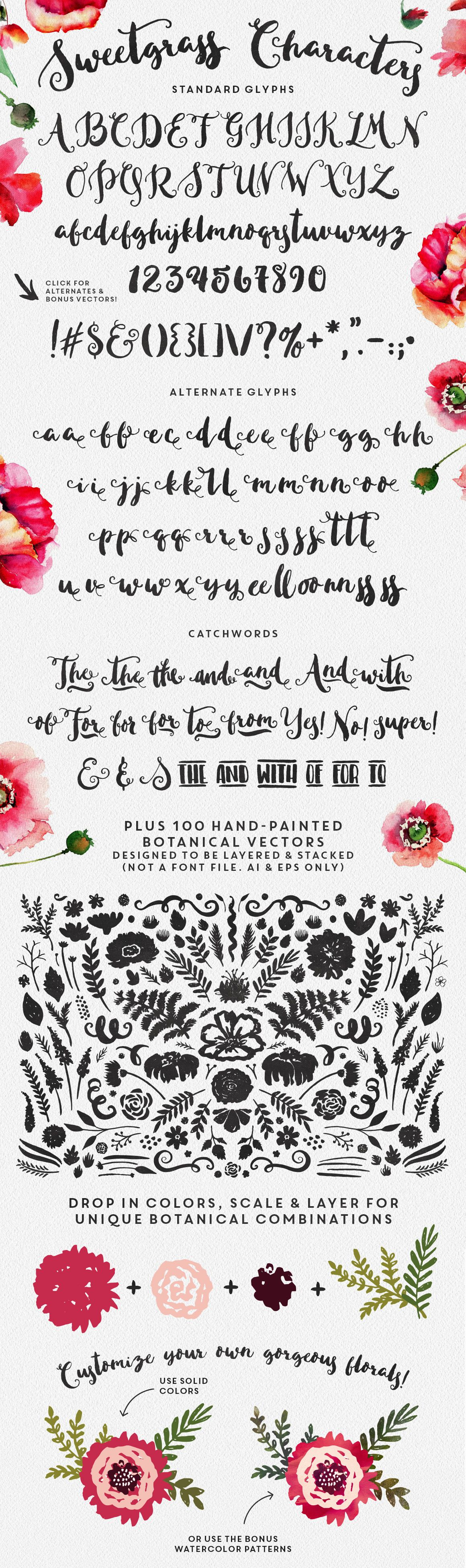 Sweetgrass font by Make Media Co.