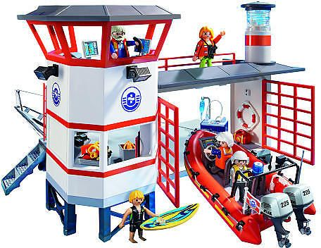 PLAYMOBIL Coast Guard Station with Lighthouse $32.99 (toysrus.com) - (http://bit.ly/1Iw0jft)