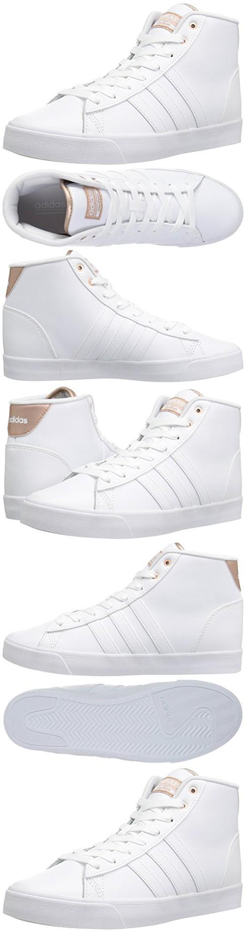 Adidas NEO Women's Cloudfoam Daily Qt Mid W Fashion Sneaker
