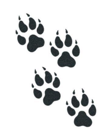 Wolf Paws | Tattoo ideen und Ideen