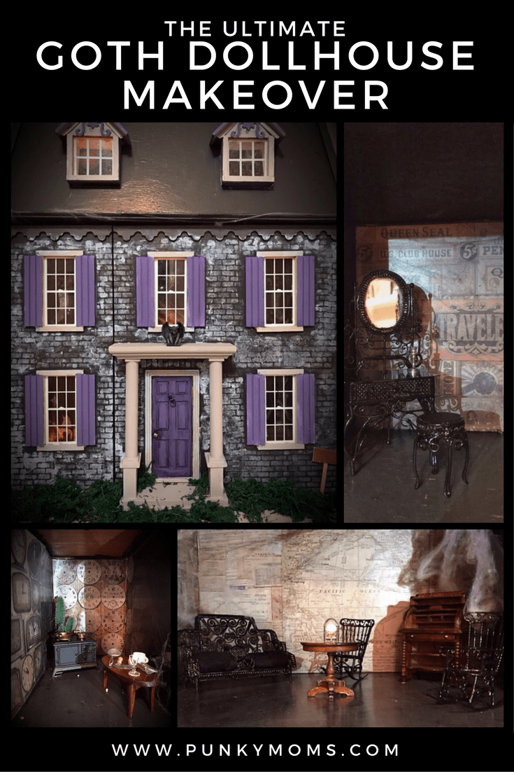 The Ultimate Goth Dollhouse Is Here To Make Your Black Heart Happy