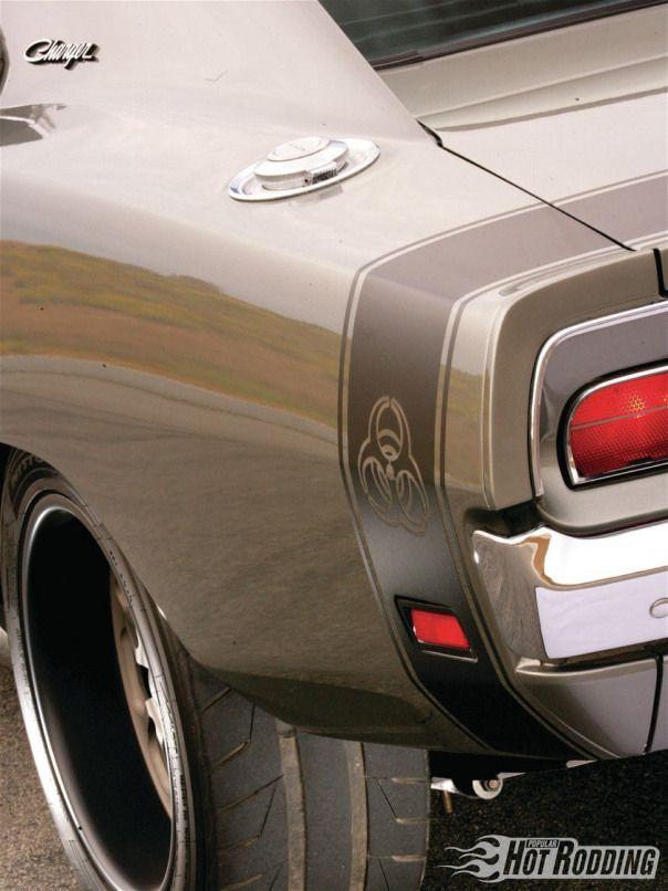 1969 Dodge Charger Rear Quarter Panel