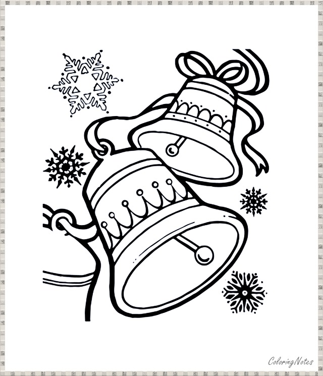 Free Christmas Bells Coloring Pages For Kids Christmas Bells Coloring Pages Christmas Coloring Pages
