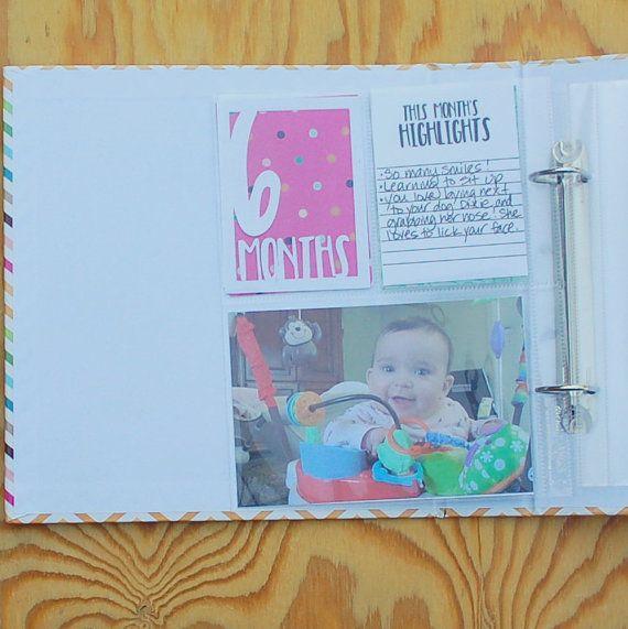 Personalized baby gift baby album handmade custom scrapbook by hot personalized baby gift baby album handmade custom scrapbook by hot wheels and glue guns negle Gallery
